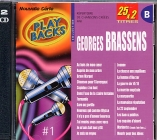 CD PLAY BACK GEORGES BRASSENS Vol.01 Bis (avec choeurs)