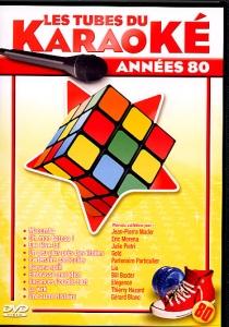 DVD WAGRAM TUBES DU KARAOKE ''Années 80''