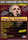 DVD KARAOKE KPM PRO VOL. 02 ''Charles Aznavour 1'' (All)