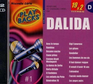 CD PLAY BACK SPECIAL DALIDA (avec choeurs)