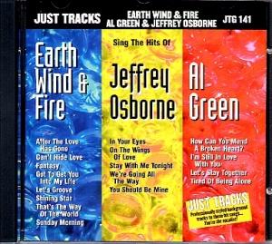 CD(G) PLAY BACK POCKET SONGS EARTH, WIND & FIRE, AL GREEN & JEFFREY OSBORNE (Livret Paroles Inclus)
