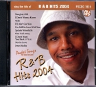 CD(G) PLAY BACK POCKET SONGS R&B HITS 2004 (Livret Paroles Inclus)