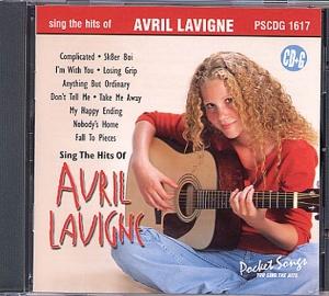 CD(G) PLAY BACK POCKET SONGS HITS OF AVRIL LAVIGNE (Livret parole inclus)