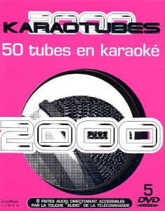 COFFRET KARAOKE 5 DVD KARAOTUBES ANNEES 2000