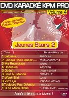 DVD KARAOKE KPM PRO VOL. 04 ''Jeunes Stars 2'' (All)