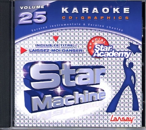 CD(G) KARAOKE LANSAY VOL.25  STAR ACADEMY