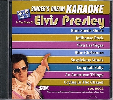 cdg play back elvis presley lyrics book included - Blue Christmas Elvis Presley Lyrics