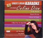 CD(G) PLAY BACK CÉLINE DION (Livret paroles inclus)