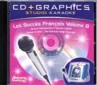 CD(G) KARAOKE LANSAY LES SUCCES FRANCAIS VOL.08