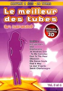 COFFRET KARAOKE 2 DVD ''Le Meilleur Des Tubes vol. 5 & 6''