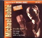 CD(G) PLAY BACK POCKET SONGS MICHAEL BUBLE (Livret Paroles Inclus)