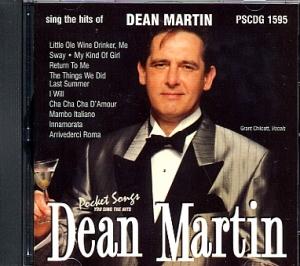CD(G) PLAY BACK POCKET SONGS DEAN MARTIN VOL. 02 (Livret paroles inclus)