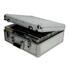 FLIGHTCASE 100 CD OU DVD EN ALUMINIUM