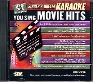 CD(G) PLAY BACK MOVIE HITS (Livret Parole Inclus)