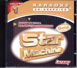 CD(G) KARAOKE LANSAY STAR MACHINE GOLD VOL. 01