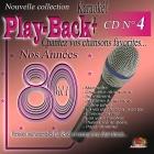 CD PLAY BACK AUDIO STUD + VOL.04 ''Années 80-1''