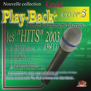 CD PLAY BACK AUDIO STUD + VOL.05 ''Hits 2003-1''