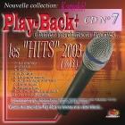 CD PLAY BACK AUDIO STUD + VOL.07 ''Hits 2003-3''