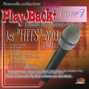 CD PLAY BACK AUDIO STUD + VOL.07 ''Hits 2003-3''