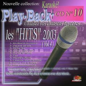 CD PLAY BACK AUDIO STUD + VOL.10 ''Hits 2003-4''