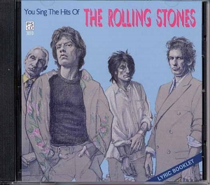 CD PLAY BACK POCKET SONGS HITS OF THE ROLLING STONES VOL.01