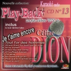 CD PLAY BACK AUDIO STUD + VOL.13 ''Céline Dion''