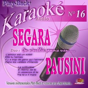 CD PLAY BACK AUDIO STUD + VOL.16 ''Hélène Ségara & Laura Pausini''