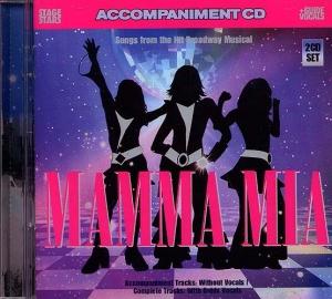 CD PLAY BACK POCKET SONGS MAMMA MIA ! (ABBA)