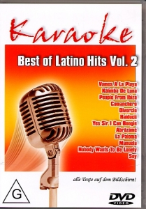 DVD BEST OF LATINO HITS VOL. 02