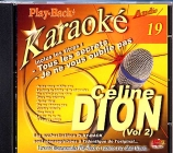 CD PLAY BACK AUDIO STUD + VOL.19 ''Céline Dion Vol.02''