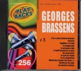 CD PLAY BACK GEORGES BRASSENS VOL. 03 (avec choeurs)