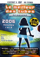 COFFRET KARAOKE 2 DVD ''Le Meilleur Des Tubes 2006 1 & 2''