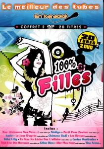 COFFRET KARAOKE 2 DVD ''Le Meilleur Des Tubes 100% Filles''