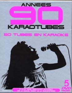 COFFRET KARAOKE 5 DVD ''Années 90''