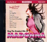 CD PLAY BACK POCKET SONGS MADONNA