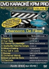 DVD KARAOKE KPM PRO VOL. 08 ''Chansons De Films'' (All)