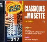CD PLAY BACK CLASSIQUES DU MUSETTE VOL. 05