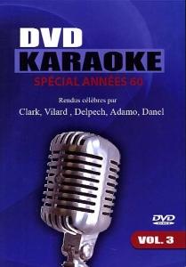 DVD KARAOKE WAP VOL. 03 ''Années 60''