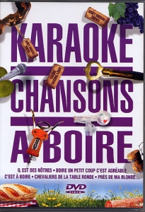 DVD KARAOKE CHANSONS A BOIRE