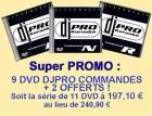 PROMO 11 DVD DJPRO DONT 2 OFFERTS !