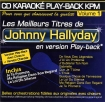 CD KARAOKE PLAY-BACK KPM VOL. 01 ''Johnny Hallyday''