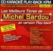 CD KARAOKE PLAY-BACK KPM VOL. 02 ''Michel Sardou''