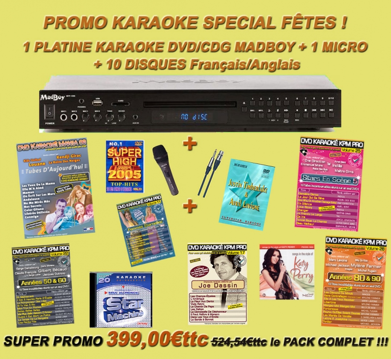 karaoke paris musique kpm mat riel dvd cd mp3 et vid o karaok. Black Bedroom Furniture Sets. Home Design Ideas