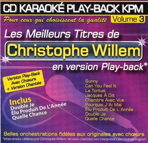 CD KARAOKE PLAY-BACK KPM VOL. 03 ''Christophe Willem''