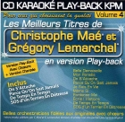 CD KARAOKE PLAY-BACK KPM VOL. 04 ''Christophe Maé & Grégory Lemarchal''