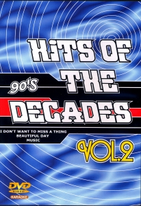 DVD KARAOKE HITS OF THE DECADES VOL.02 ''Années 90-2''
