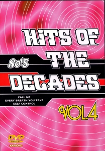 DVD KARAOKE HITS OF THE DECADES VOL.04 ''Années 80-2''