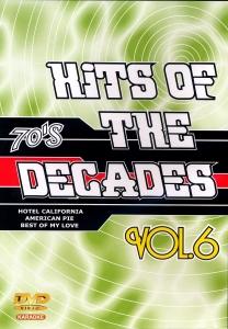 DVD KARAOKE HITS OF THE DECADES VOL.06 ''Années 70-2''