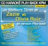 CD KARAOKE PLAY-BACK KPM VOL. 05 ''Zazie & Olivia Ruiz''