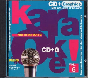 CD(G) PLAY BACK HITS OF THE 90'S 2 (livret paroles inclus)
